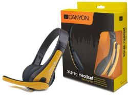 CANYON CNS-CHSC1BY (čierno-žlté) - Headset