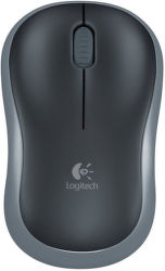 LOGITECH Wireless Mouse M185 Swift Grey, 910-002238