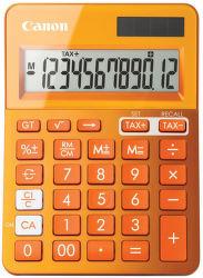 CANON LS-123K-MOR, orange - stolná kalkulačka