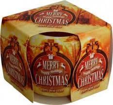 Sviečka aromatická 100g christmas moments