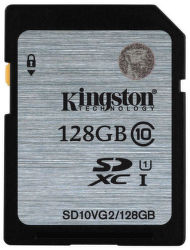 KINGSTON 128GB SDXC Class10
