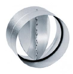 Elica KPK 150, spätná klapka s gumovým tesnením