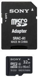 SONY pamäťová karta microSDHC 32GB