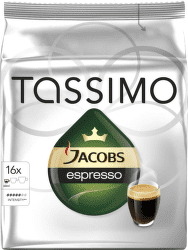 Tassimo Jacobs Kronung Espresso 16ks