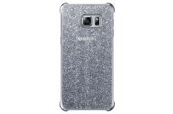Samsung kryt Glitter pre Galaxy S6 edge+ (strieborný)