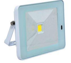 Ecolite LED reflektor - COB, 10W, IP65, 4100K (biely)