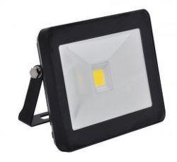 ECOLITE LED reflektor,COB,30W,IP65,4100K,čierny
