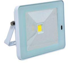 ECOLITE LED reflektor s HF senz.,COB,10W,IP44,4100K,biely