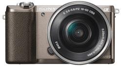 Sony Alpha 5100 hnedý + 16–50 mm F3,5–5,6 OSS