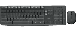 Logitech MK235 - CZ klávesnica & myš