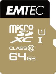 Emtec 64GB Micro SDXC Class10