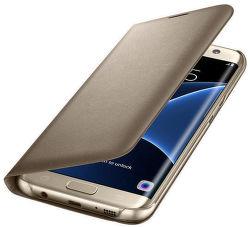 Samsung EF-NG935PF LED View SG S7e (zlatý)
