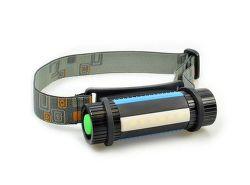 SOLIGHT WL105, LED ručné a čelové svietidlo 2v1, 3x AAA