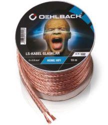 Oehlbach 102 - Reproduktorový kábel 2x2,5mm², 10m