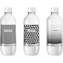 Sodastream Tripack čierna/biela náhradná fľaša (1l/3ks)
