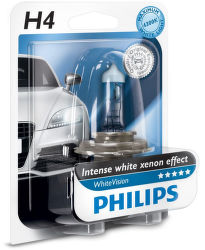 Philips H4 WhiteVision P43t