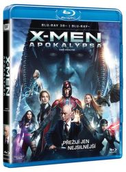 Bonton Blu-Ray 3D X-Men: Apokalypsa