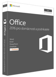 Microsoft Office 2016 pre Mac Mac Home and Business (Eng)