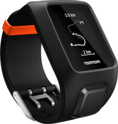 TOMTOM SPORTS Adventurer Cardio + Music (čierna)