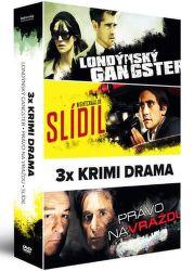 3x Krimi drama - DVD film