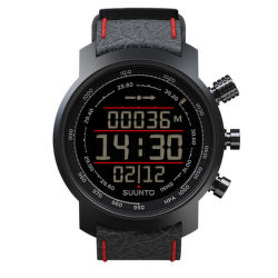 SUUNTO Elementum Terra n/ black/red leather