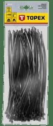 TOPEX 2,5 x 200 mm 100 ks, čierna