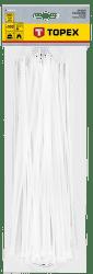 TOPEX 3,6 x 300 mm 100 ks, biela