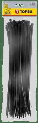 TOPEX 4,8 x 370 mm 75 ks, čierna