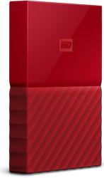 "WD My Passport 2,5"" 4TB USB 3.0 (červený)"