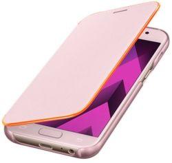 SAMSUNG Flipové puzdro pre Galaxy A5 2017 Neon (ružová)
