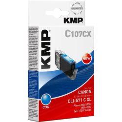 KMP CLI571C XL (tyrkysová) - Cartridge