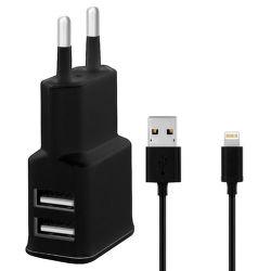 WINNER nabíjačka + dátový kábel Lightning pre iPhone 5/6 (čierna)