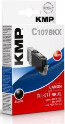 KMP C107BKX XL čierna
