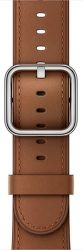 Apple Watch 42mm sedlový hnedý klasický remienok