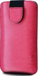 Fixed Soft Slim 5XL+ ružové puzdro so zatváraním