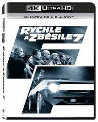 Rychle a zběsile 7 - 2xBD (Blu-ray + 4K UHD film)