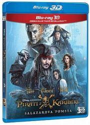 Piráti z Karibiku 5: Salazarova pomsta - Blu-ray 3D+2D