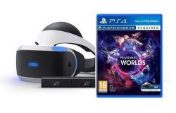 Sony PlayStation VR headset + kamera + VR Worlds