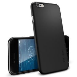 SPIGEN iPhone 6/6S Case Thin Fit, čierna