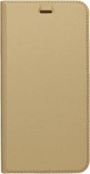 MOBILNET knižkové puzdro pre Samsung Galaxy A3 2017, zlatá