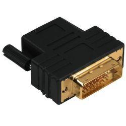 Hama 34035 Redukcia DVI-D vidlica - HDMI zásuvka - pozlátená