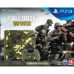 Sony PlayStation 4 Slim kamufláž + Call of Duty WWII a That's You!