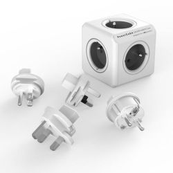 Power Cube Rewirable sivý