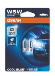 OSRAM W5W COOL BLUE INTENSE, Autožiarovka 2ks