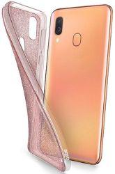 SBS Glitter puzdro pre Samsung Galaxy A40, ružová