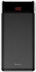 Baseus Mini Cu powerbanka 10 000 mAh, čierna