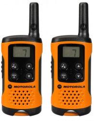 Motorola TLKR T41 vysielačka oranžová