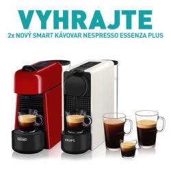 Vyhrajte 2x kávovar Nespresso