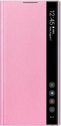 Samsung Clear View puzdro pre Samsung Galaxy Note10, ružová