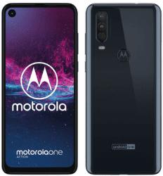 Motorola One Action modrý